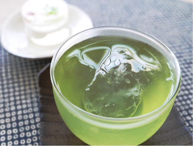 水出し緑茶画像