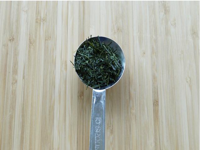 ひらの園 掛川茶 単一農家 茶葉の量