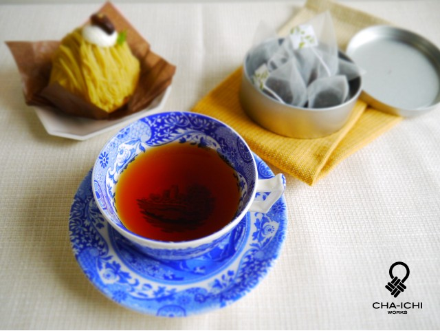 栗の和紅茶