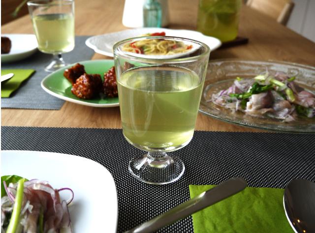 柚子TBワイングラスと食
